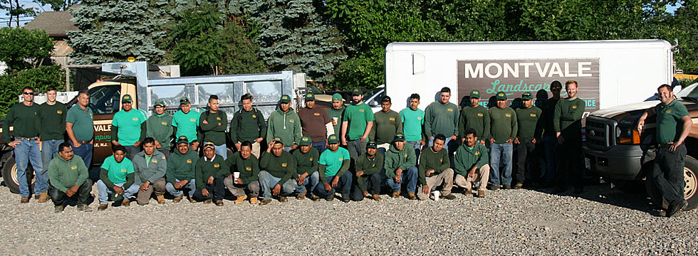 Montvale Landscaping Group Photo